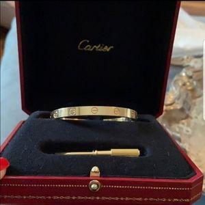 Cartier Love Braclet size 17
